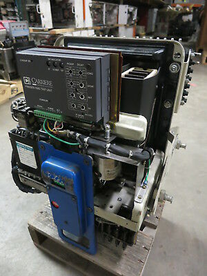 General Electric AK-3A-25 HH 600A Electrically Operated 125VDC Air Breaker GE 2A