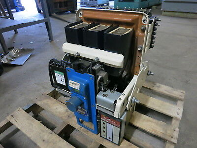General Electric AK-2A-25-1 600A Electrically Operated 125VDC Air Breaker GE 2 A
