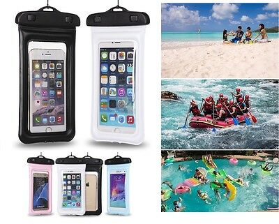 Floating Waterproof Pouch Cell Phone Dry Bag Case for Outdoor Water Activities