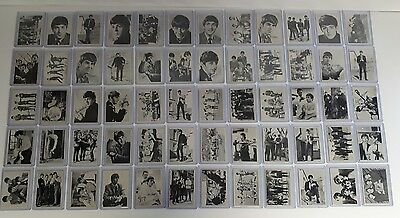 1964 TOPPS - The Beatles Cards - T.C.G - Complete Set of 60 Cards -used