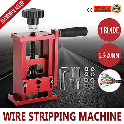 Manual Electric Wire Stripping Machine Recycle Tool Industrial Safe Stable