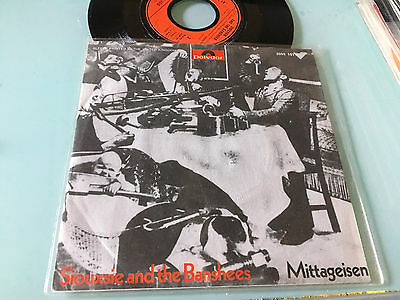 """7"""" Germany Siouxsie And The Banshees– Mittageisen Label: Polydor 2059 151"""