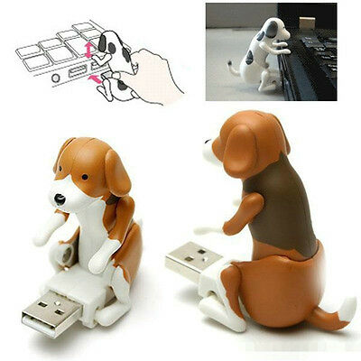 Funny Cute USB Pet Humping Spot Dog Toy Relief Stress Christmas Gift LOT AU