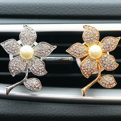 New Hot Car Air Conditioning Vent Clip Perfume Air Freshener Fragrance Scent