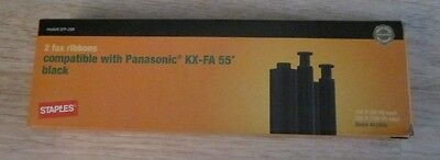 Staples One Fax Ribbon Compatible With Panasonic Kx-Fa 55 & Others New