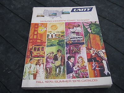 Vintage Unity Fall 1975 Summer 1976 Catalog 499  pages