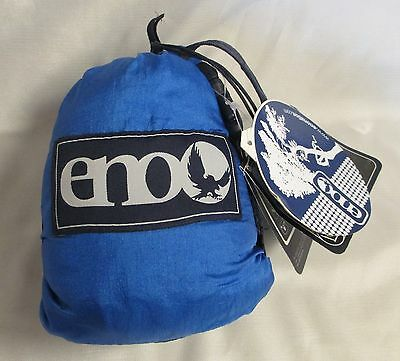 New ENO Eagles Nest Outfitters - DoubleNest Hammock, Navy/Royal Blue