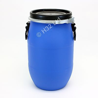 New 30 L Litre open top keg Air tight Storage Container Drum Bin Premium 25