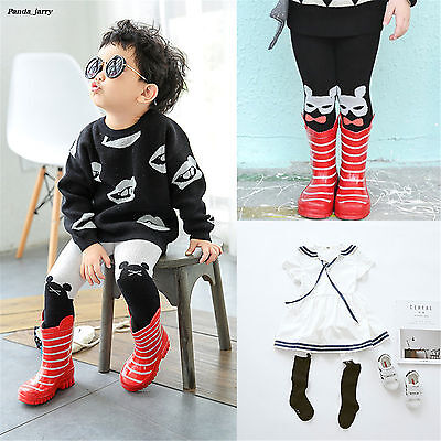Lovely Animal Cartoon Pantyhose Boys Fall Girl Orecchiette Cotton Baby Tights