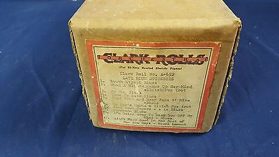 "Clark ""A"" Roll No. A-652 Nickelodeon Coin Player Piano Ed Freyer Recut"