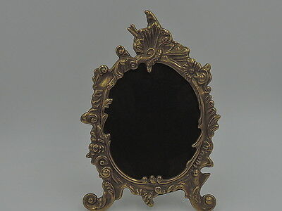"Vintage French Brass Photo Frame 4.5"" x 3.5"" Picture"