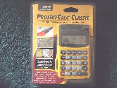 Calculated Industries 8503 ProjectCalc Classic Home Project Calculator NEW
