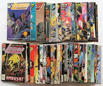 Legion of Super-Heroes (1989 4th Series) Huge Lot of 65 DC Comics Plus Bonus!