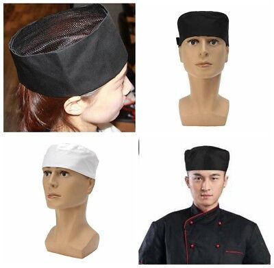 Catering Hat Professional Chefs Mesh Skull Cap Restaurant Kitchen Cook Chef