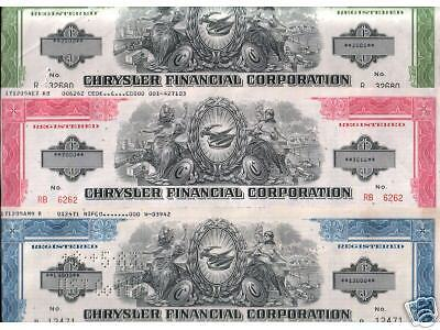 50 SUPER XXX-RARE 1970's CHRYSLER BONDS up to $100,000! 2-3 COLORS RETAIL $2500!