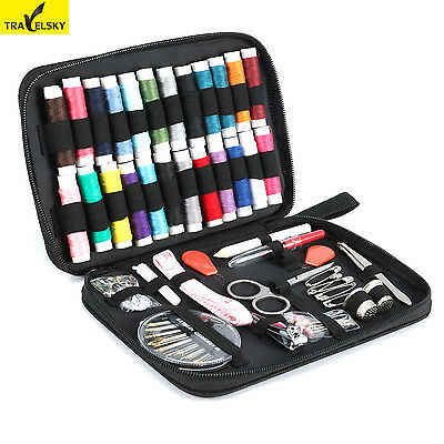 58PCS/SET SEWING KIT Thread Threader For Home Travel Portable Hussif Workbox