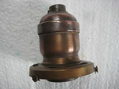 "Bryant Solid Brass  Socket With 1904 Patent 2 1/4"" Fitter - 2 1/2"" Tall"