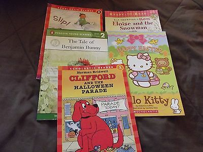 Children's Scholastic Reader Level 1 & 2  Holiday Picture Books, Lot 5