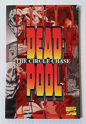 DEADPOOL: The Circle Chase NM (Marvel,1996) Complete TPB Graphic Novel RARE!!!!