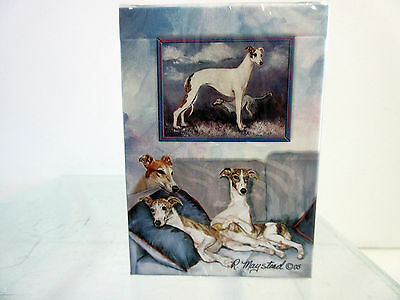New Greyhounds & Whippets Dog Poker Playing Card Set Deck of Cards Ruth Maystead