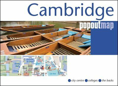 Cambridge PopOut Map by PopOut Maps 9781910218198 (Sheet map, folded, 2016)