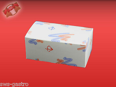 500 Chicken Boxen S Lunch-Boxen Lunchbox Food to go 01 FCO SS Faltbox (29310)