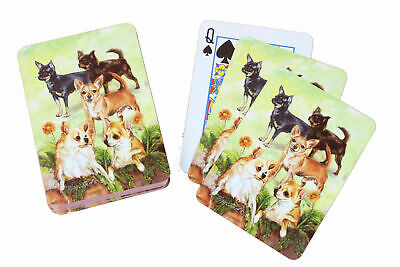 New Chihuahua Dog Poker Playing Cards Set Deck of Card Ruth Maystead Chihuahuas