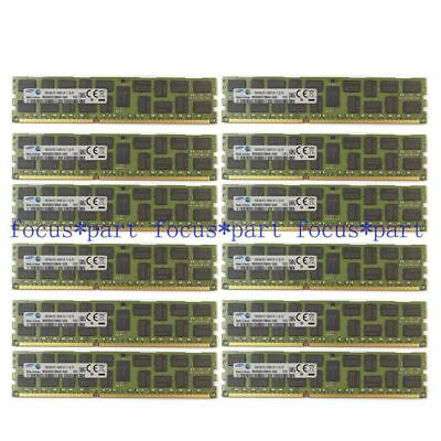 192GB 12X 16GB DDR3-1333 PC3-10600R ECC Registered Memory F/ Dell PowerEdge R610