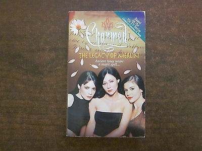 THE LEGACY OF MERLIN Constance Burge CHARMED #8 Book TV SERIES Paperback 2001