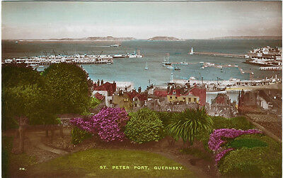 GUERNSEY(Channel Islands) :St Peter Port RP