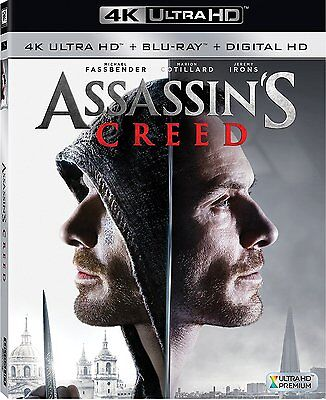 Assassins Creed (4K Ultra HD Blu-ray Disc ONLY, 2017)