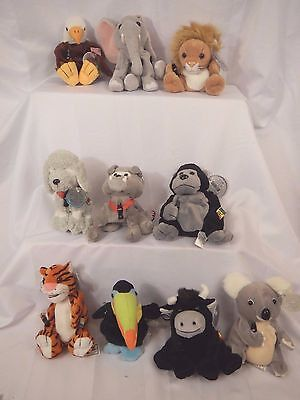 Set # 1 Coca Cola International bean bag animals complete New 1999 retired