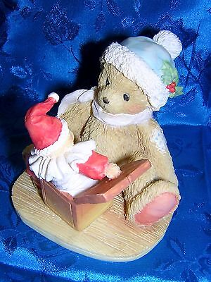 CHERISHED TEDDIES DOUGLAS Let's Be Friends NEW & Never Displayed