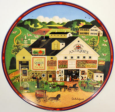 """PepperCricket Farms"" By Charles Wysocki Commemorative Numbered Plate FREE S&H!"