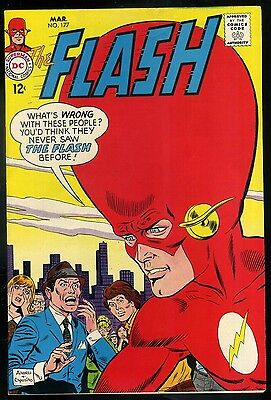 Flash #177 VF+  Giant Head Cover