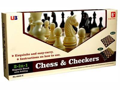 Chess And Checkers - Magnetic Set