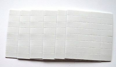 192 Double Sided Sticky Self Adhesive Foam Pads 250mm x 130mm x 2mm NEW