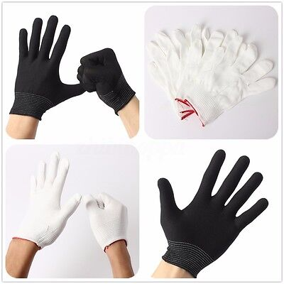 2/4/10Pcs Antistatic Work Glove ESD PC Electronic Nylon Knit Working Safety Grip