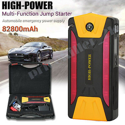 80200mAh Car Jump Start Charger Power Starter Battery Booster Rescue Pack【UK】