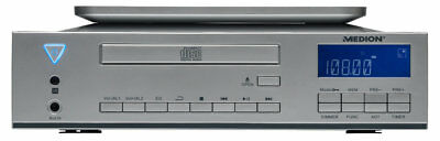 MEDION LIFE E69644 MD 83963 Stereo CD Unterbauradio Küche UKW Timer AUX silber