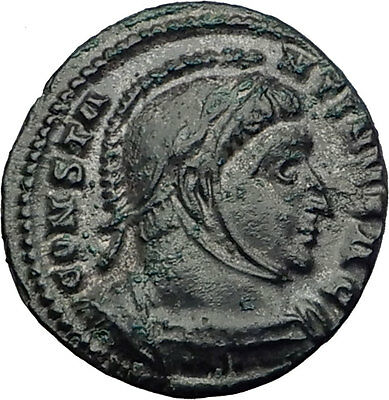 CONSTANTINE I the Great 319AD Londinium London Mint Ancient Roman Coin i64012