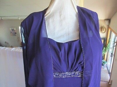 Mother of the bride Dress SIZE 16 NEW Formal Gown Wedding Bridesmaid Prom