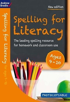 Spelling for Literacy for Ages 9-10 (Paperback), Brodie, Andrew, ...