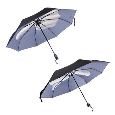 Middle Finger Umbrella Compact Folding Travel Parasol Super Light Portable Small