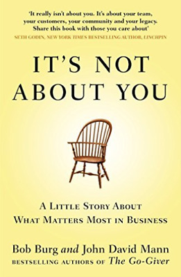 It`s Not About You  BOOK NEW