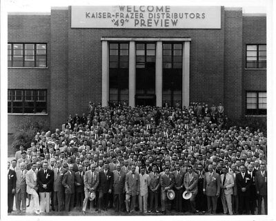 1949 Kaiser Distributors Preview Conference ORIGINAL Factory Photo oub7241