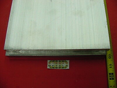 """2 Pieces 3/4"""" X 10"""" ALUMINUM 6061 FLAT BAR 10"""" long Solid T6511 Plate Mill Stock"""
