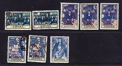Spain 1972 Solana Paintings Used