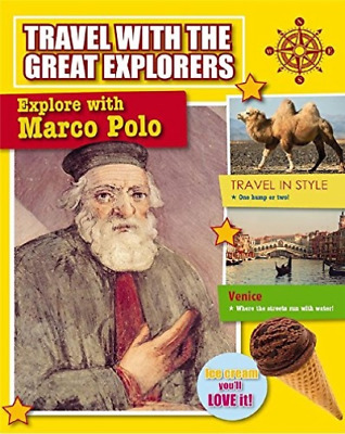 Explore With Marco Polo  BOOK NEW