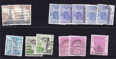 Spain 1967 Tourism Issues Used